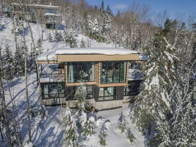 Photo for Chalet Héméra: 2bd 4-6 p, modern with spa and view