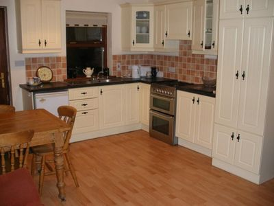 kitchen in cottage at MOUNTSHANNON in EAST CLARE