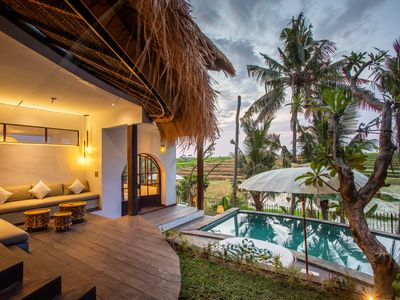 Photo for Tropical Private Villa, 3 BR in Canggu, 30jt Monthly/10jt Weekly BIG PROMO)