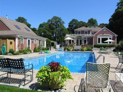 Photo for Historic Mini-Resort with Spa & Salt Water Pool in the heart of Cape Cod