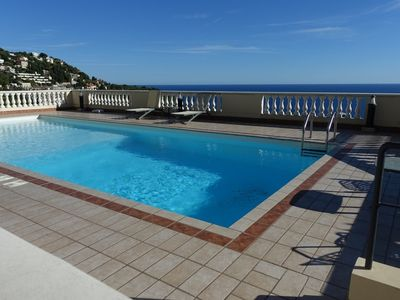 Photo for NEAR MONACO - APARTMENT 2 ROOMS WITH TERRACE, GARAGE AND SWIMMING POOL