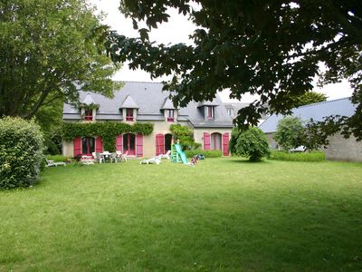 Photo for house in Pouldu (3 *) sea view facing the island of Groix - Beach walk