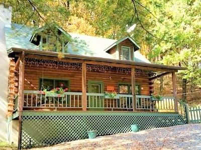 Photo for Cozy Cabin Close to Beech and Downtown Banner Elk* Hot Tub * Fireplace * WiFi
