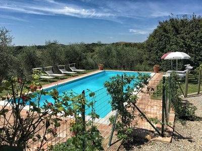 Photo for 5 BDR CASALE POOL, VIEW, WIFI, CLOSE TO A VILLAGE