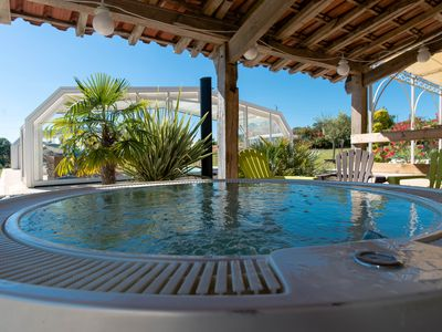 Photo for 5 Bed and Breakfast (B&B) near Agen (47) with covered swimming pool and equipped