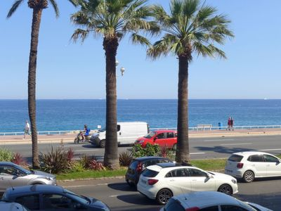 Photo for Apartment in Nice with Parking, Internet, Washing machine, Air conditioning (680185)