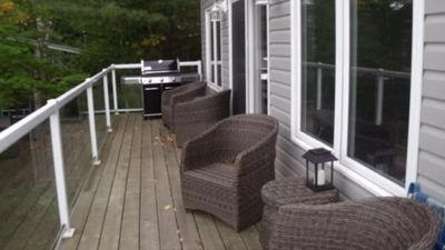 Photo for Vacation in beautiful Muskoka! Experience lake house living on Peninsula lake.