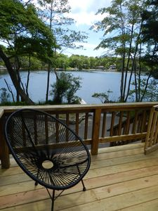 """Photo for """"Waterfront Cottage Nestled Between the Forest and the Sea"""""""