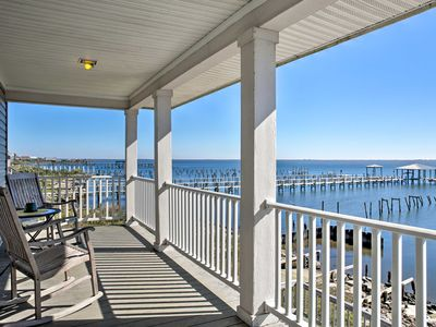 Photo for Waterfront New Orleans Home w/Private Dock