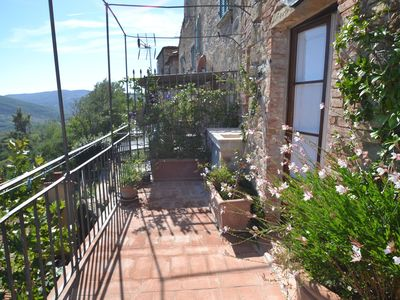Photo for Wonderful house in green Montecastelli, with a breathtaking panoramic terrace