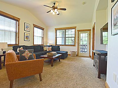 Photo for Bright, modern Condo with views of the Tetons