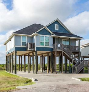 Photo for Sandy Hook: 3 BR / 2 BA home in Galveston, Sleeps 9