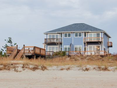 Photo for Newly Renovated Oceanfront Home with Private Beach Access in Emerald Isle