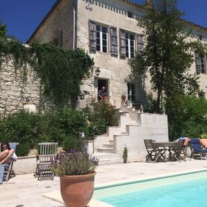 Photo for Poolside villa in country manor in Quercy, peaceful location !