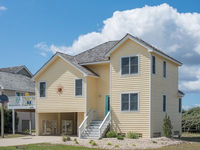 Photo for Seascape Escape: Oceanside, four lots from the beach, community pool and pet friendly.
