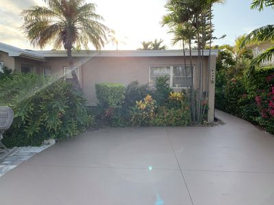 Photo for Secluded Canal Front Property with Private Beach + Pool Club Access