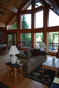 Photo for Beautiful Cabin Sits on 'Wild and Scenic' Flathead River