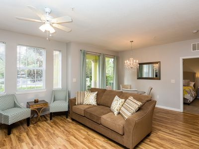 Photo for Newly Renovated, Modern Two Bedroom Condo Minutes Away From Disney