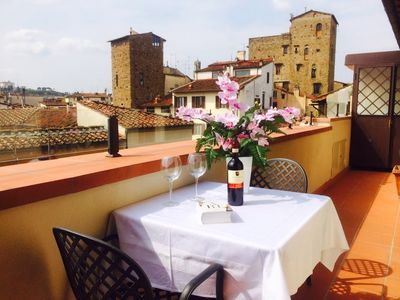 Photo for New flat with panoramic terrace located 100m from Duomo square (lift / free WiFi)