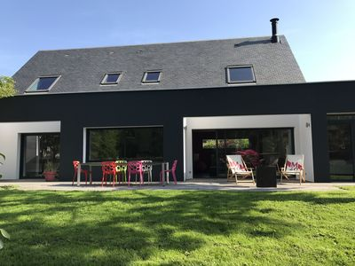 Photo for Architect house La Trinité sur Mer built in 2010, 5 bedrooms 3 bathrooms