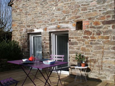 Photo for Independent gite with garden located between Dinan, Dinard and St Malo