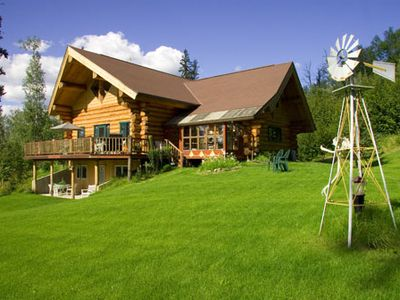 Summer days at A Moose in the Garden Vacation Rental