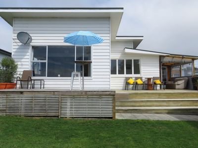 Photo for Spacious Riverton Beach Home with a View
