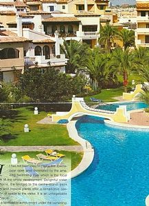 Photo for Apartment Private pool in Aldea del Mar beside sea with sandy beach