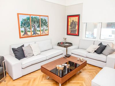 Photo for A Chic Kolonaki Apartment in Central Athens!