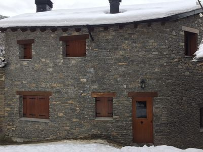 Photo for TOURIST APARTMENT - CAL DOMENEC - PIRINEO - CHIMNEY - RELAX - FREE PARKING