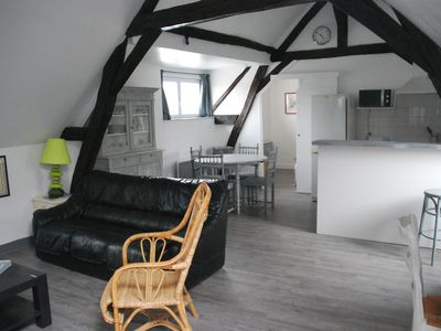 Photo for Apartment in the heart of the city 'orange attic' 4 / 6pers