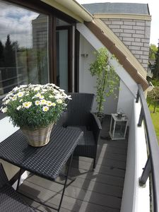 Photo for Timmendorfer beach Seaside 60sqm balcony 80m to the beach Wi-Fi TOP equipped