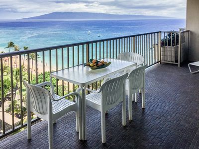 Photo for The Whaler 11th floor One in from Oceanfront Amazing Views Sunsets on our lanai!