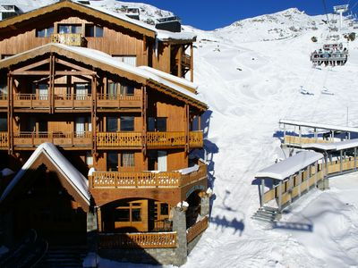 Photo for Nice apartments with spa in the centre of Val Thorens