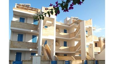 Photo for Very comfortable apartment on the ground floor and 100 m from the beach