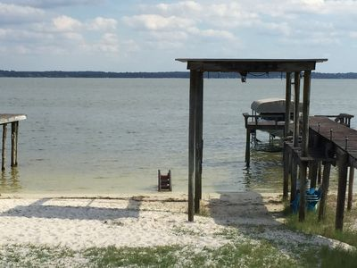 Photo for White Sand Beach, Big Lake Weir 4/3 with rv hookups on 1 acre