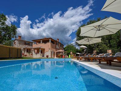 Photo for Charming villa with private pool and children's playground ideal for family vacations