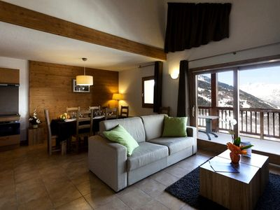 Photo for Residence Club MMV L'Etoile des Cimes **** - Family 3 Rooms 6 People