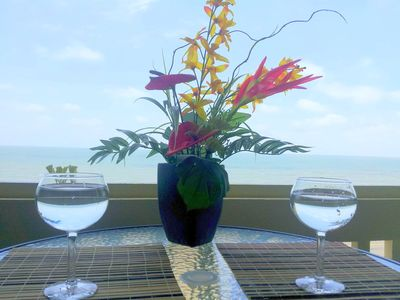 Photo for Large Oceanfront, 2/2, Pool at back and Ocean at front, Free WiFi. Sleeps 6.