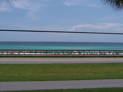 Full east to west unobstructed view of the Gulf and Beach from your balcony!