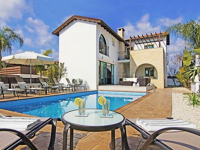Photo for Ayia Thekla Holiday Home, Sleeps 8 with Pool, Air Con and WiFi
