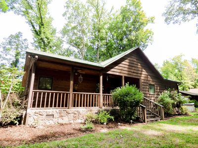 Photo for Beautiful Cabin Located on the Little Red River with Private Boat Dock