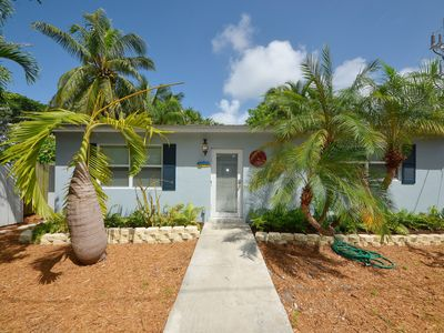Photo for Cozy, dog-friendly home w/ patio & private pool - walk to dining & shopping!