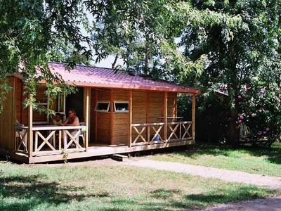 Photo for Camping Domaine des Chênes Verts **** - Chalet Belves 4 Rooms 6 People