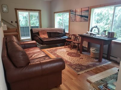 Photo for Wooded Paradise home near Olympic National Park and Ocean