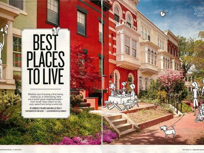 Washingtonian Magazine's Best Place to Live on Capitol Hill