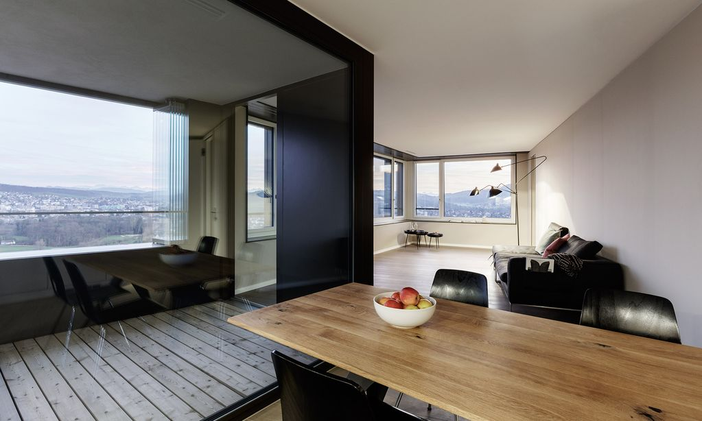 limmattower23five: Apartment in the Limmat Tower / Limmattower23five ...