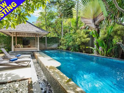 Photo for Cabe Putih, colonial style, A/C living area, 3 Bedroom Villa, Central Seminyak