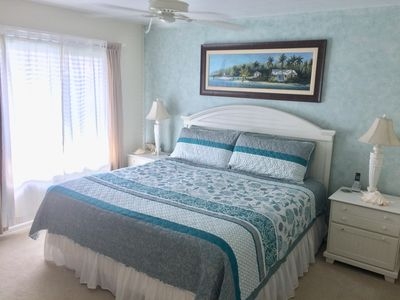 1st bedroom with king bed