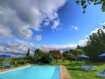 Photo for Chaming Farmhouse in Tuscany with Swimming  Pool